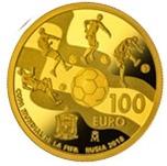 Foto de 2017 FIFA RUSIA'18 100 EUROS ORO