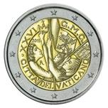 Foto de 2011 VATICANO 2 EUROS DIA MUNDIAL JUVENTUD