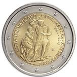 Foto de 2019 VATICANO 2 EUROS CAPILLA SIXTINA