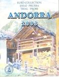 Foto de 2003 ANDORRA CARTERA 8 piezas PRUEBA EURO