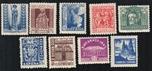 Foto de 1943-44 AÑO SANTO COMPOSTELANO 9 Valores