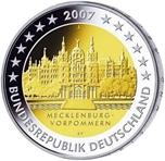 Foto de 2007 ALEMANIA 2 EUROS MECKLENBURGO-POMERANIA