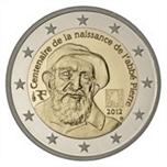 Foto de 2012 FRANCIA 2 EUROS ABBE PIERRE