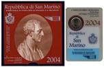 Foto de 2004 SAN MARINO 2 EUROS BARTOLOME BORGHESI