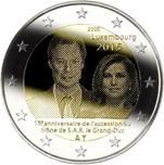 Foto de 2015 LUXEMBURGO 2 EUROS ASCENSION TRONO