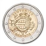 Foto de 2012 ESLOVENIA 2 EUROS X Aniv. EURO