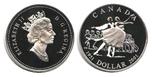 Foto de 2001 CANADA 1$ PROOF BALLET NACIONAL