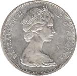 Foto de 1965 CANADA 1$ P CANOA