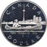 Foto de 1984 CANADA 1$ P FDC TORONTO