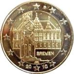 Foto de 2010 ALEMANIA 2 EUROS BREMEN