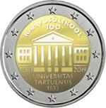 Foto de 2019 ESTONIA 2 EUROS UNIVERSIDAD TARTU