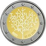 Foto de 2020 ESTONIA 2 EUROS TRATADO PAZ TARTU