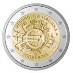 Foto de 2012 ITALIA 2 EUROS X Aniv. EURO