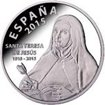 Foto de 2015 10 EUROS STA TERESA DE JESUS