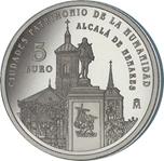 Foto de 2014 CIUDADES PATRIMONIO ALCALA DE HENARES 5 EUROS