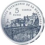 Foto de 2015 CIUDADES PATRIMONIO CUENCA 5 EUROS