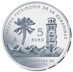 Foto de 2015 CIUDADES PATRIMONIO S.CRISTOBAL 5 EUROS