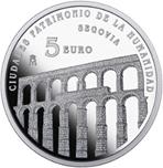 Foto de 2015 CIUDADES PATRIMONIO SEGOVIA 5 EUROS