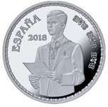 Foto de 2018 50 Aniv. S.M EL REY 10 EUROS JURA CONSTITUCION