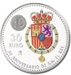 Foto de 2018 ESPAÑA 30 EUROS 50 ANIV.FELIPE VI