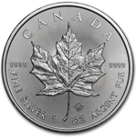 Foto de 2020 CANADA 5$ HOJA DE ARCE 1 Oz