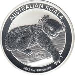 Foto de 2012 AUSTRALIA 1$ - 1 Oz KOALA