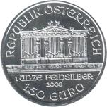 Foto de 2008 AUSTRIA 1'50 EUROS FILARMONICA VIENA
