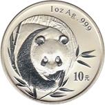 Foto de 2003 CHINA 1 ONZA P OSO PANDA