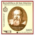 Foto de 2005 SAN MARINO 2 EUROS GALILEO GALILEI