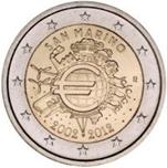 Foto de 2012 SAN MARINO 2 EUROS X ANIV.del EURO