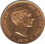 Foto de 1878*1878 ALFONSO XII 25 PTAS
