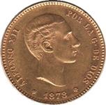 Foto de 1878*1878 ALFONSO XII 25 PTAS EMM