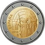 Foto de 2018 ESPAÑA 2 EUROS SANTIAGO DE COMPOSTELA