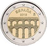 Foto de 2016 ESPAÑA 2 EUROS ACUEDUCTO de SEGOVIA