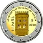 Foto de 2020 ESPAÑA 2 EUROS ARQUITECTURA MUDEJAR