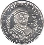 Foto de 1990 CUBA 10 Pesos  JUAN DE LA COSA