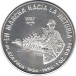 Foto de 1987 CUBA 10 PESOS MARCHA HACIA LA VICTORIA