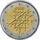 Foto de 2020 FINLANDIA 2 EUROS UNIVERSIDAD DE TURKU