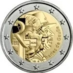 Foto de 2020 FRANCIA 2 EUROS de GAULLE