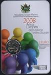 Foto de 2008 SAN MARINO 2 EUROS DIALOGO INTERCULTURAL