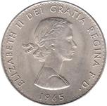 Foto de 1965 INGLATERRA 1$ CHURCHIL Ni