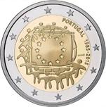 Foto de 2015 PORTUGAL 2 EUROS BANDERA EUROPEA