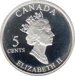 Foto de 2002 CANADA 5 CENTS VIMY