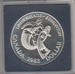 Foto de 1983 CANADA 1 DOLAR EDMONTON