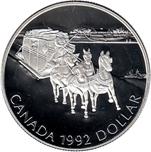 Foto de 1992 CANADA 1$ P PROOF DILIGENCIA