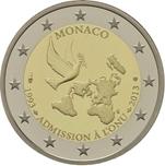 Foto de 2013 MONACO 2 EUROS ADHESION ONU
