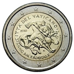 Foto de 2010 VATICANO 2 EUROS AÑO SACERDOTAL