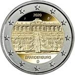 Foto de 2020 ALEMANIA 2 EUROS BRANDENBURGO - PALACIO SANSSOUCI