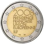 Foto de 2008 FRANCIA 2 EUROS PRESIDENCIA EUROPEA