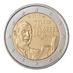 Foto de 2010 FRANCIA 2 EUROS GAULLE